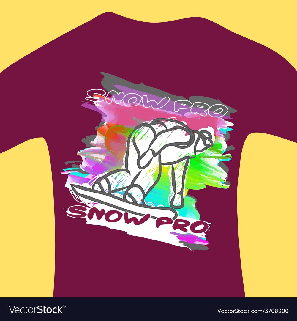 Print for sweatshirt vector | Price: 1 Credit (USD $1)