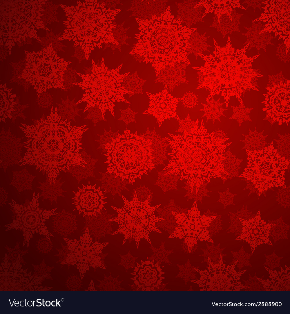 Seamless deep red christmas pattern eps 10 vector | Price: 1 Credit (USD $1)