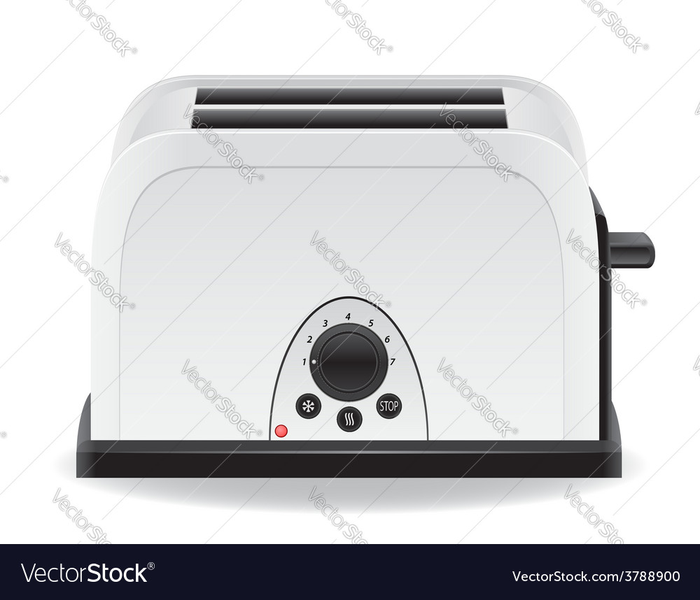 Toaster 01 vector | Price: 3 Credit (USD $3)