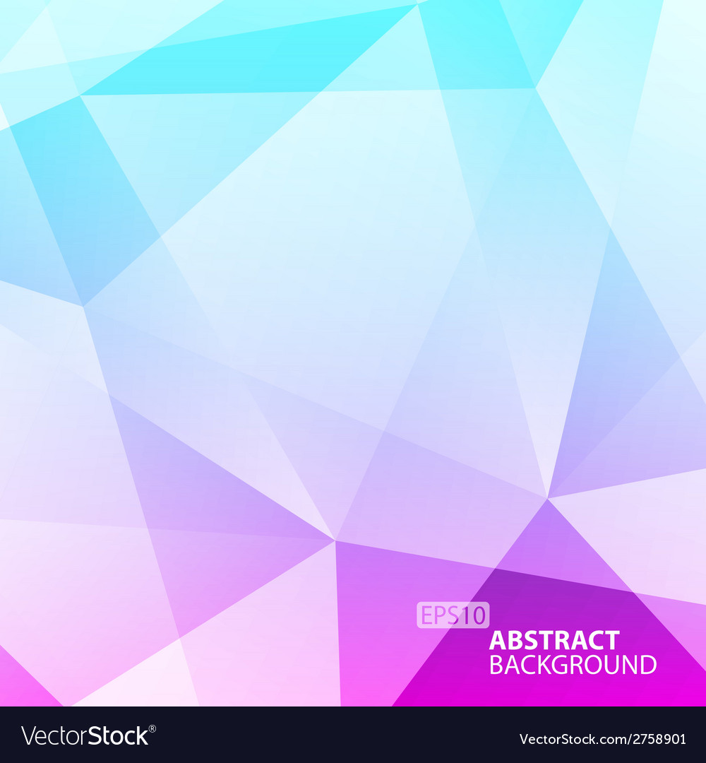 Abstract green - violet geometric background vector | Price: 1 Credit (USD $1)