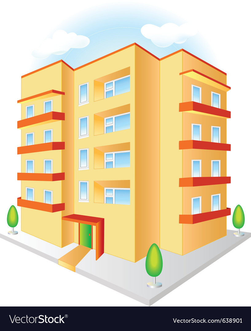 Building vector | Price: 3 Credit (USD $3)