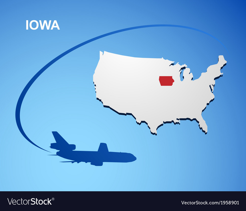 Iowa vector   Price: 1 Credit (USD $1)