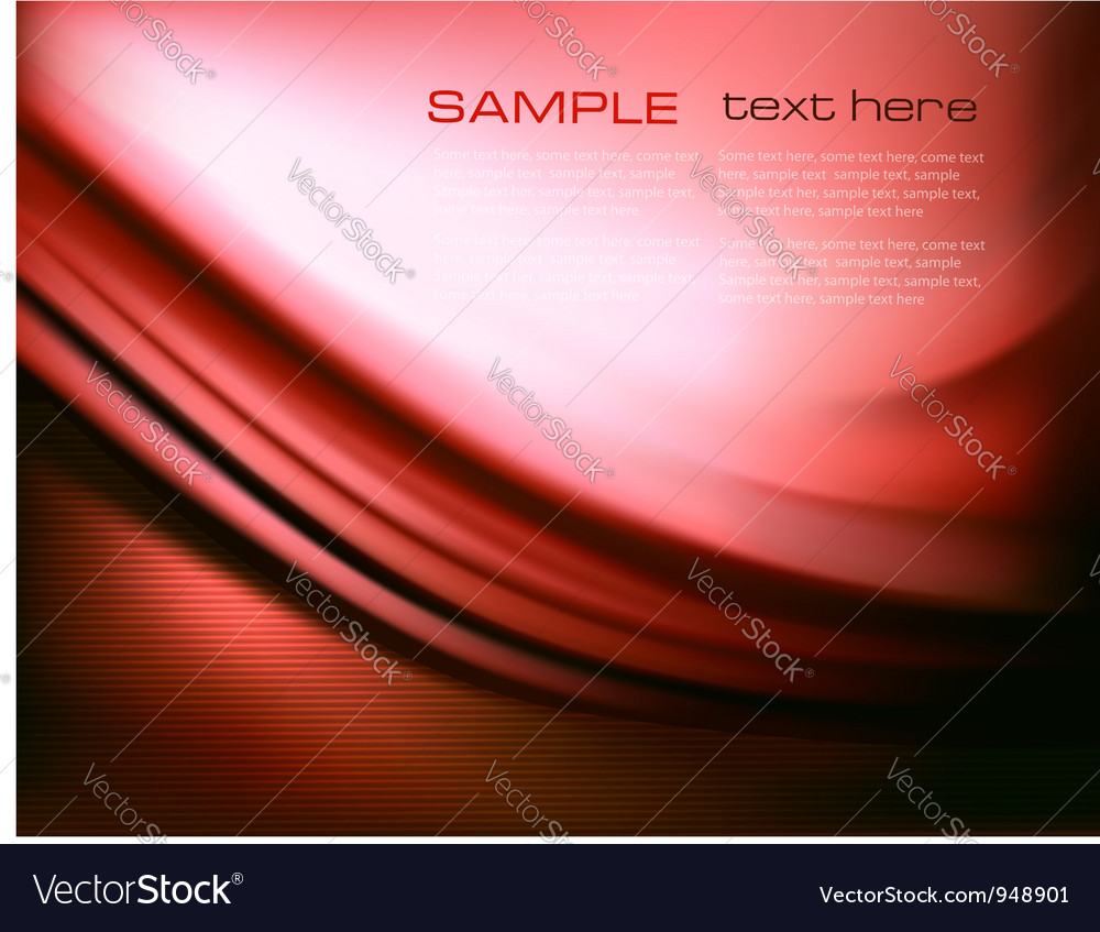Red elegant abstract background vector | Price: 1 Credit (USD $1)