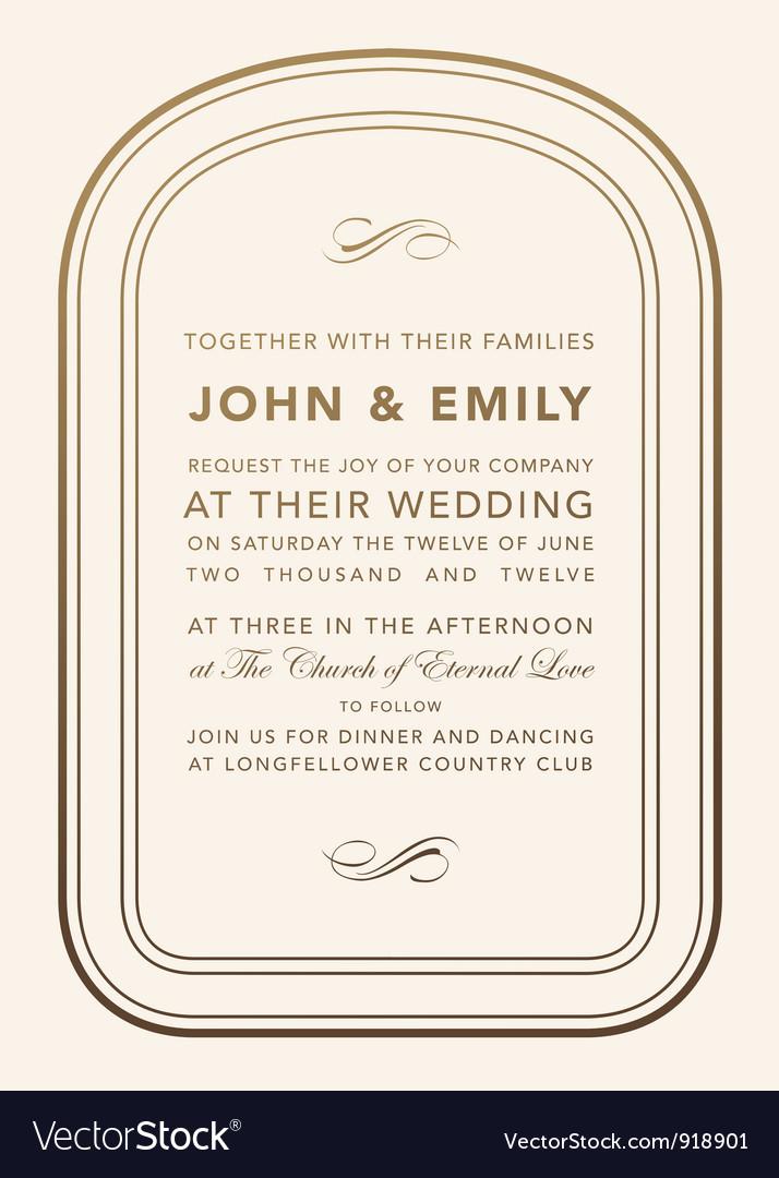 Wedding invite cards vector | Price: 1 Credit (USD $1)