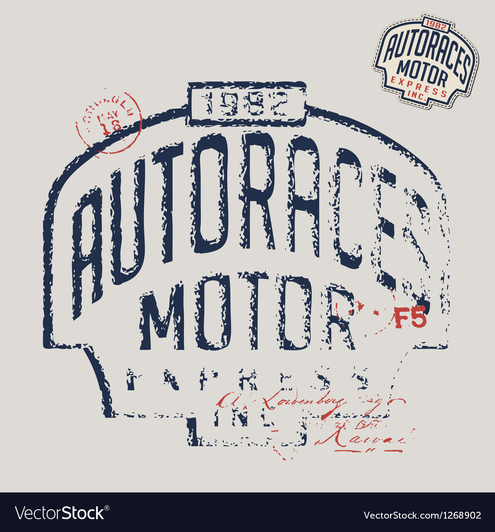 Autoraces vector | Price: 1 Credit (USD $1)
