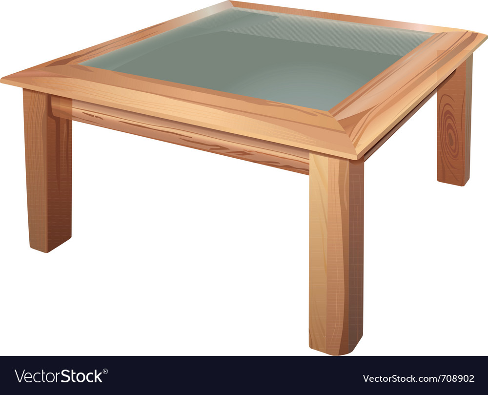 Coffee table vector | Price: 3 Credit (USD $3)