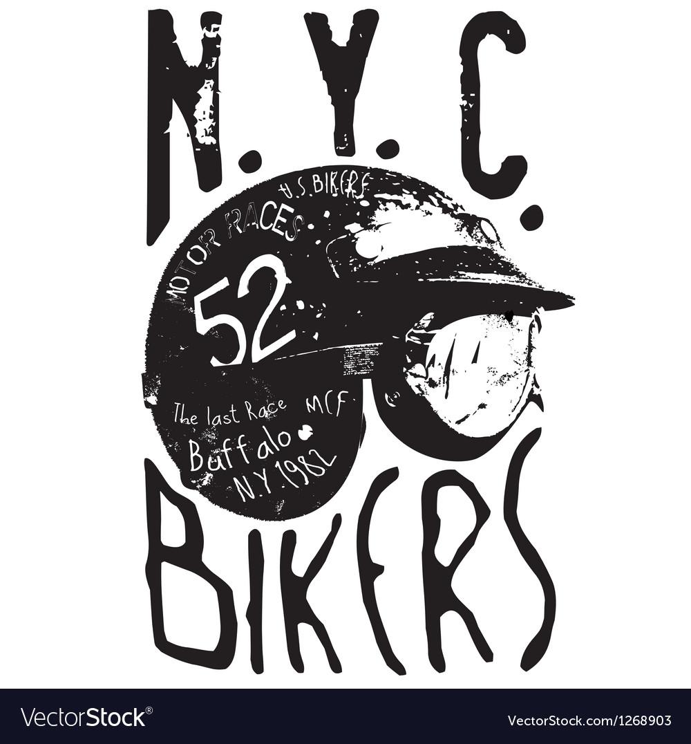 Bikers vector | Price: 1 Credit (USD $1)