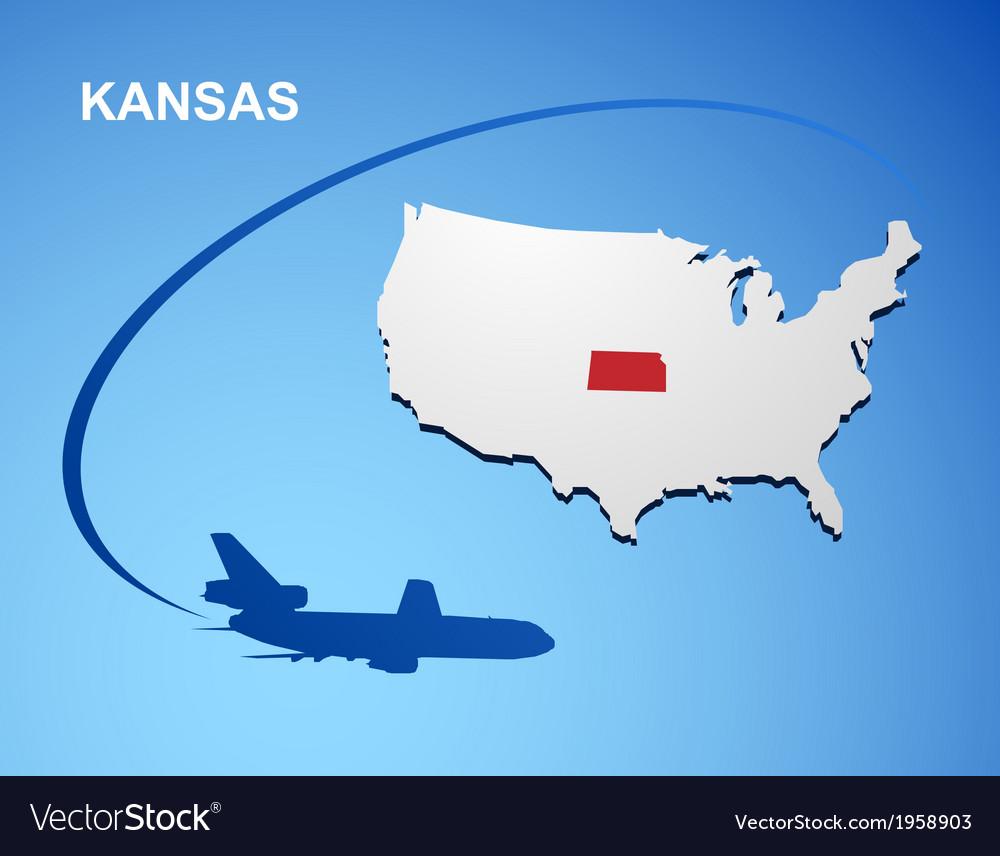 Kansas vector | Price: 1 Credit (USD $1)