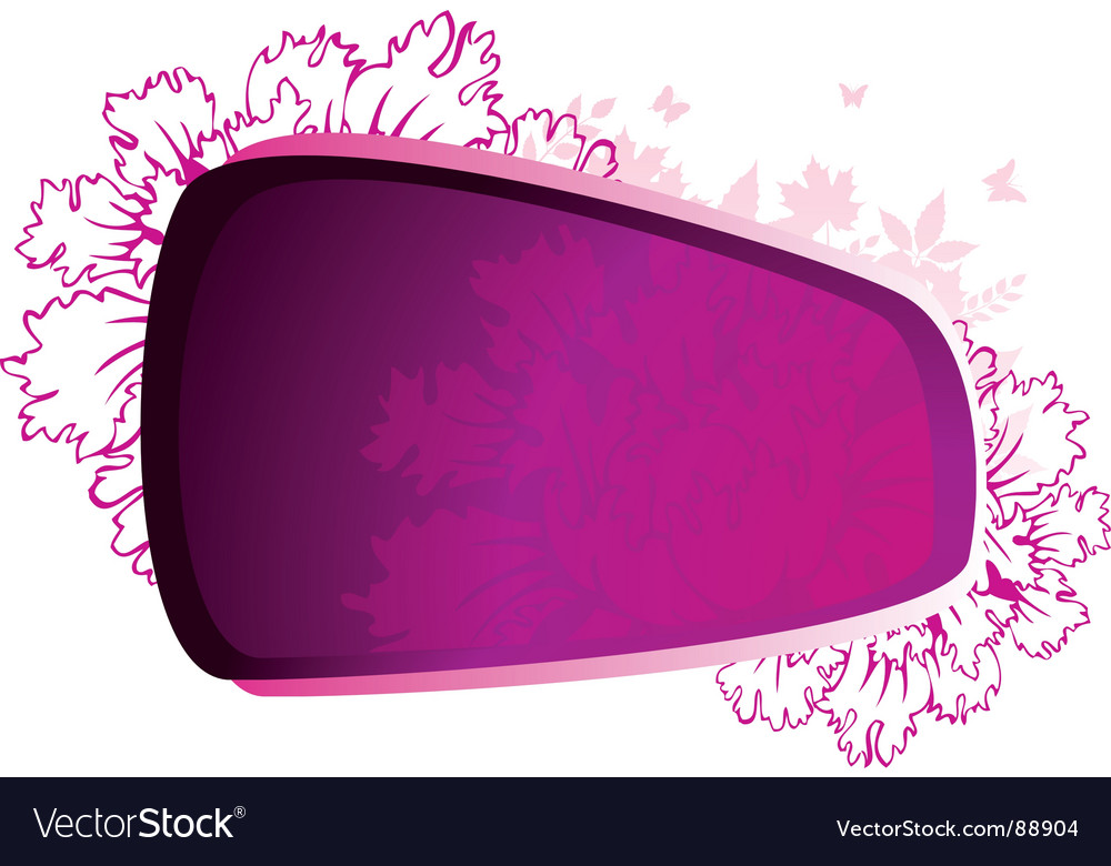 Beauty flower pink vector | Price: 1 Credit (USD $1)