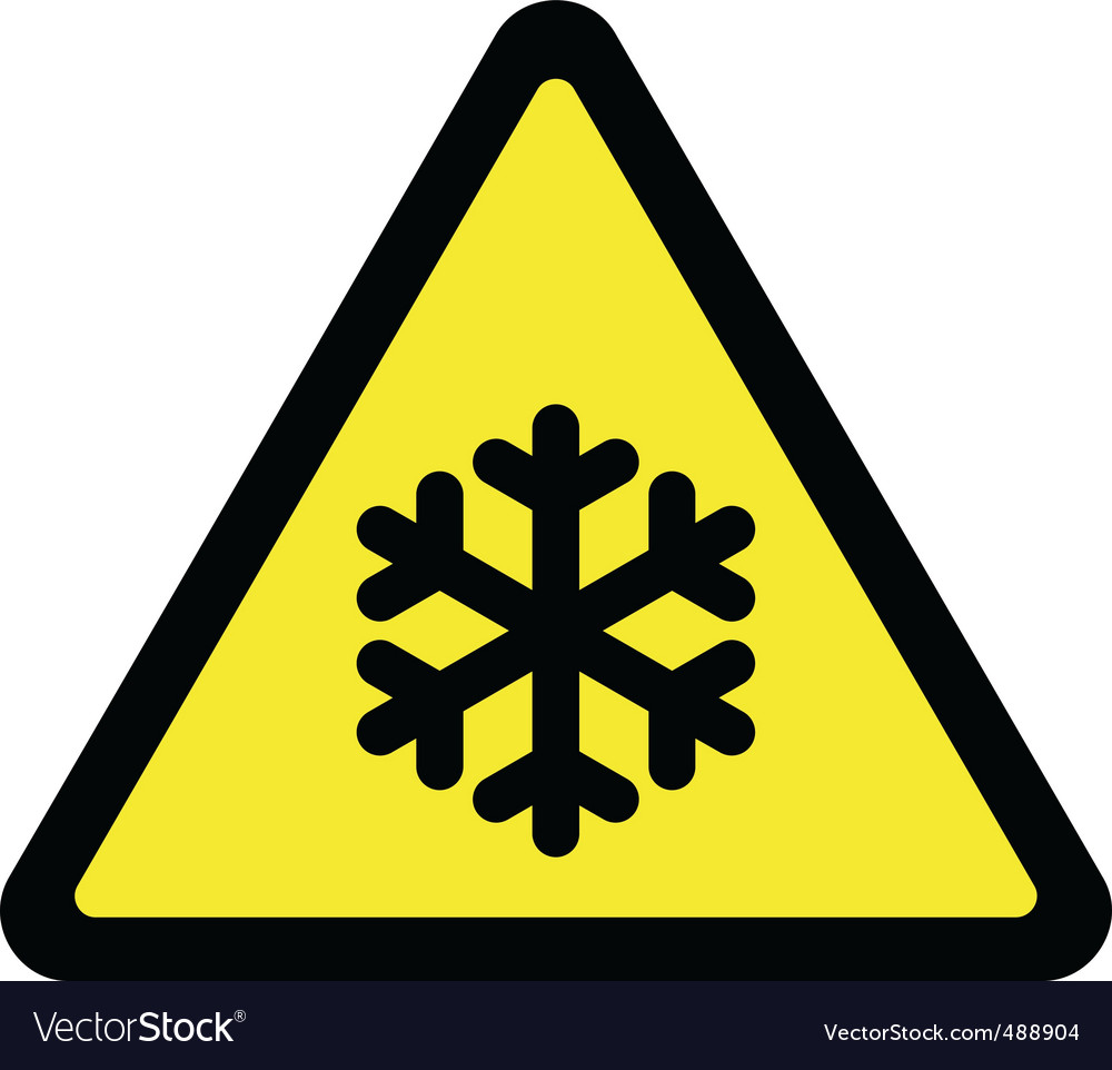 Cold sign vector | Price: 1 Credit (USD $1)