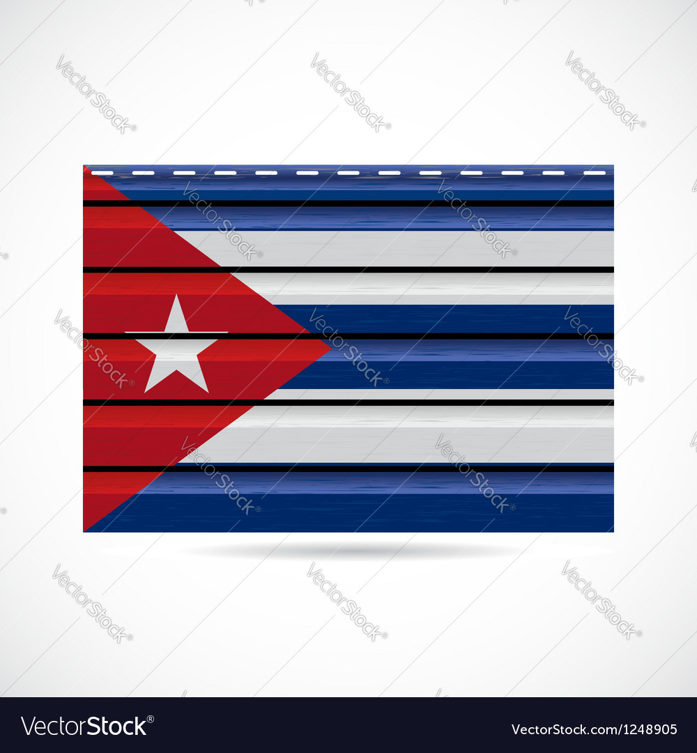 Cuba siding produce company icon vector | Price: 1 Credit (USD $1)