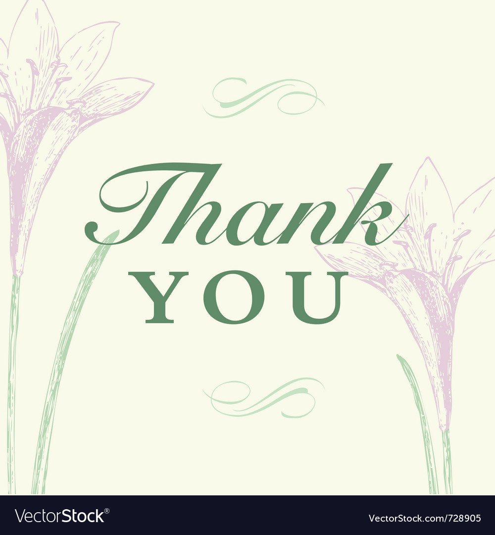 Thanks you vector | Price: 1 Credit (USD $1)