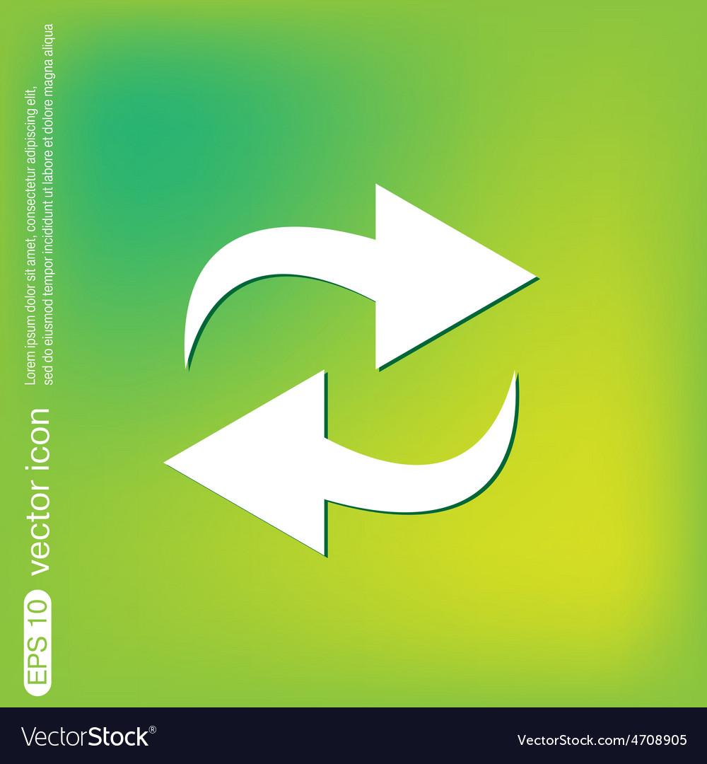 Update arrow vector | Price: 1 Credit (USD $1)