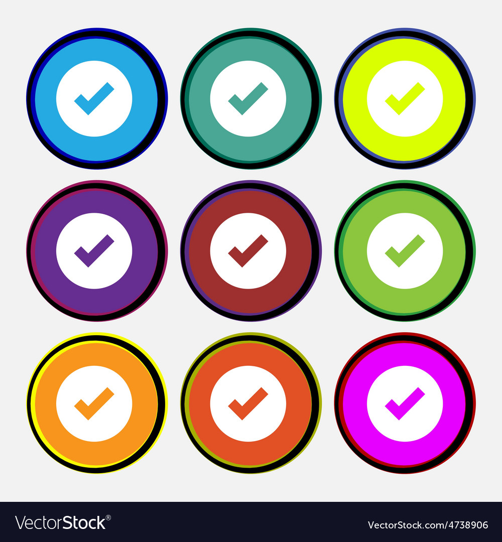 Check mark tik vector | Price: 1 Credit (USD $1)
