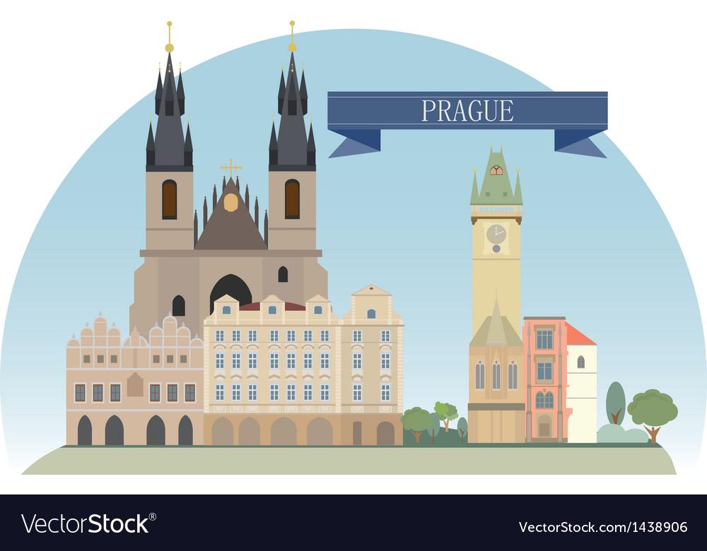 Prague vector | Price: 1 Credit (USD $1)