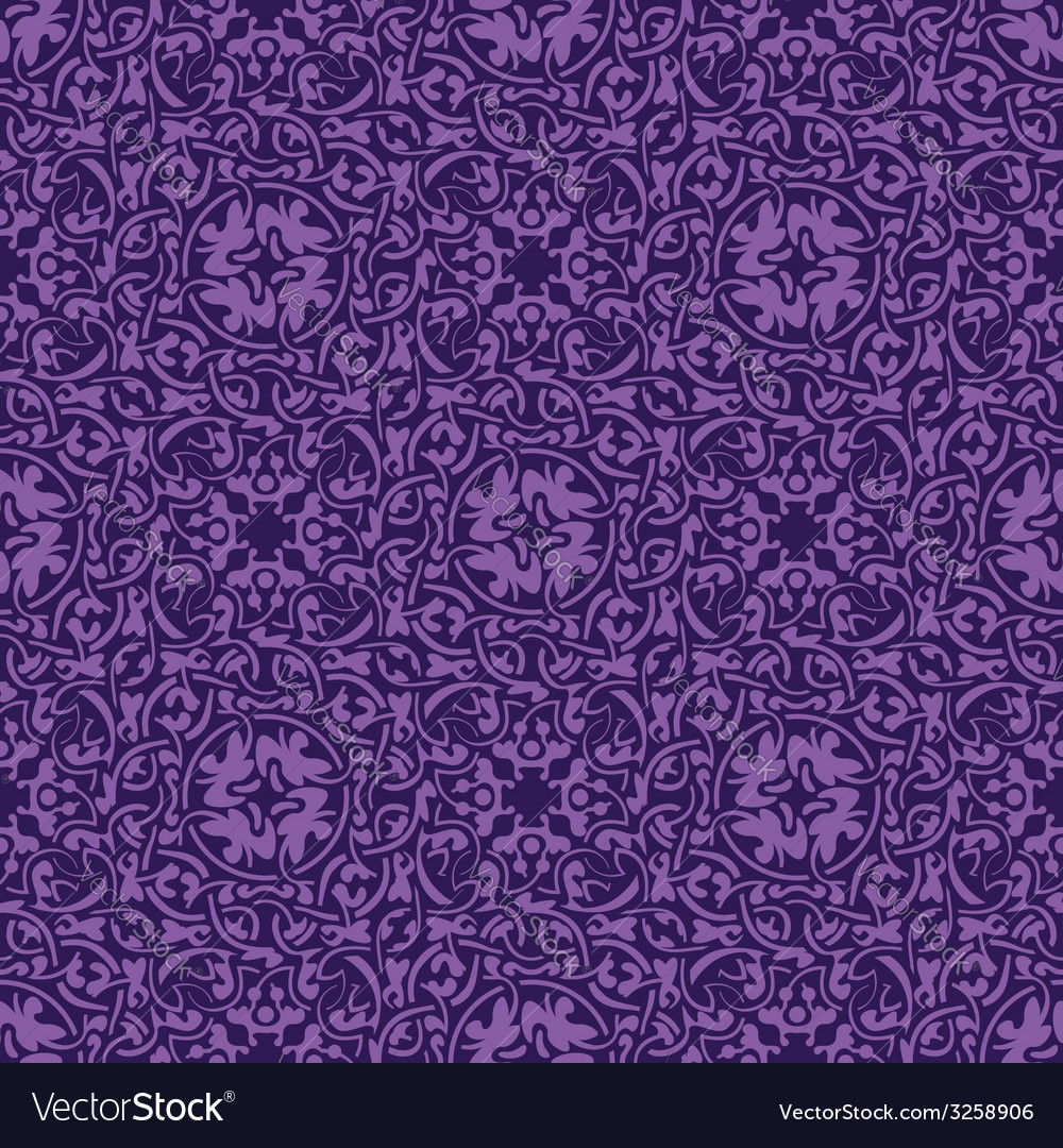 Violet seamless pattern vector | Price: 1 Credit (USD $1)