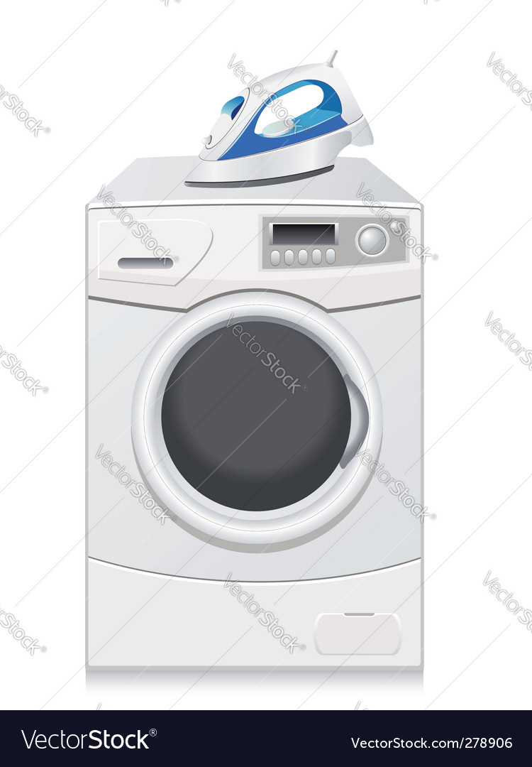 Washing machine vector | Price: 3 Credit (USD $3)