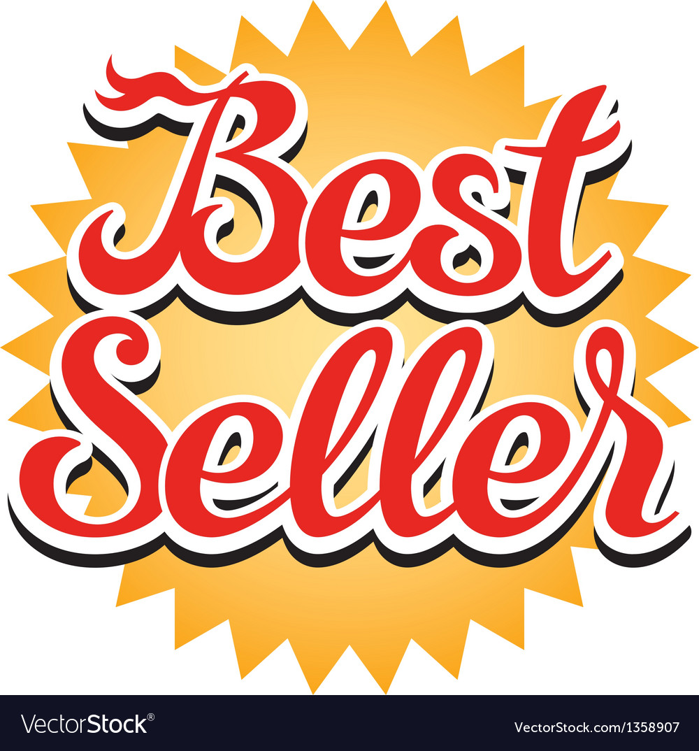 Best seller sticker vector | Price: 1 Credit (USD $1)