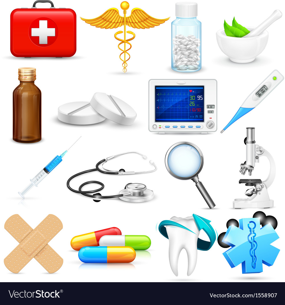 Medical object vector | Price: 1 Credit (USD $1)
