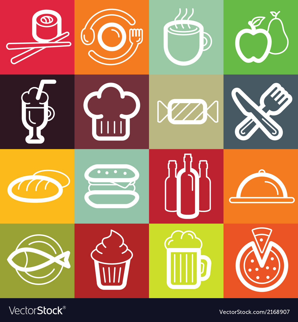 Set of design elements and logo symbols vector | Price: 1 Credit (USD $1)