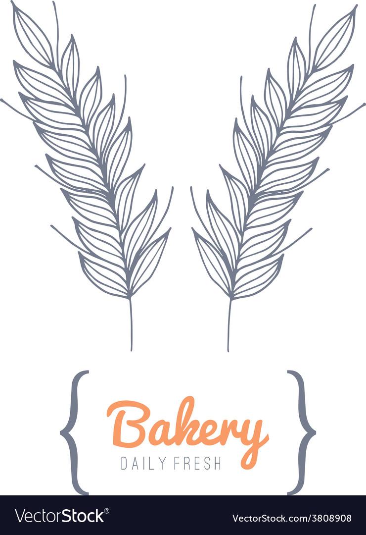 Bakery logo vector | Price: 1 Credit (USD $1)