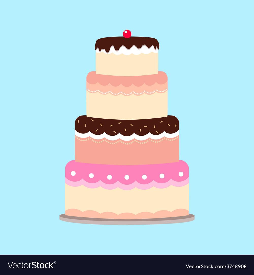 Cake vector | Price: 1 Credit (USD $1)