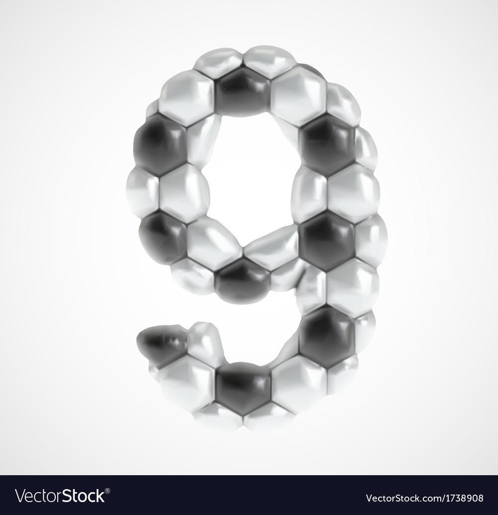 Soccer alphabet eps8 vector   Price: 1 Credit (USD $1)