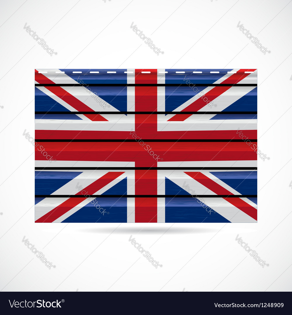 Britain siding produce company icon vector | Price: 1 Credit (USD $1)
