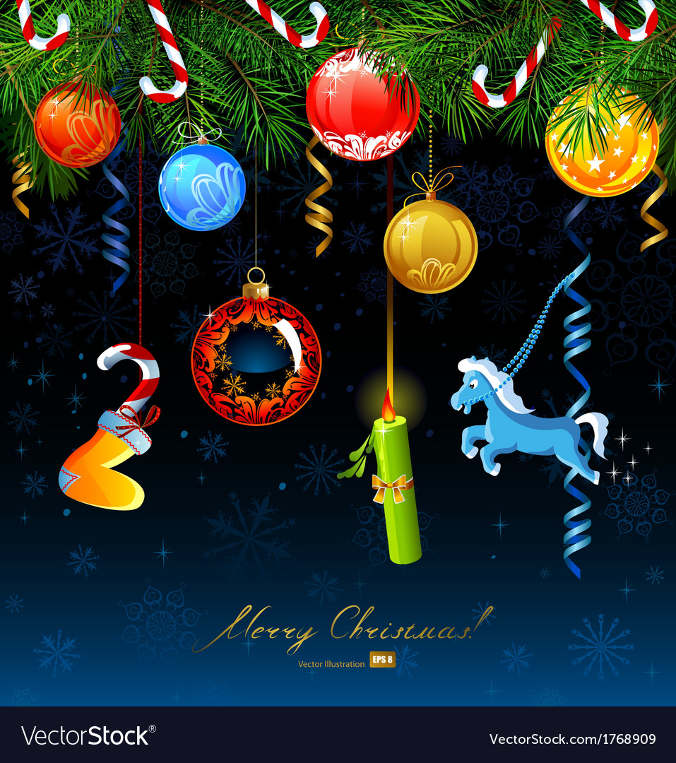 Christmas greeting-card vector   Price: 1 Credit (USD $1)
