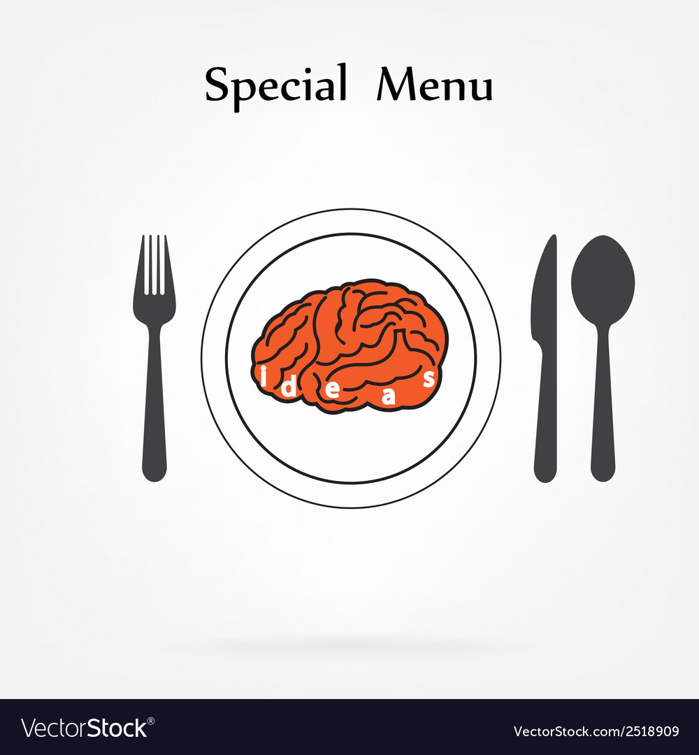 Creative brain idea concept vector | Price: 1 Credit (USD $1)