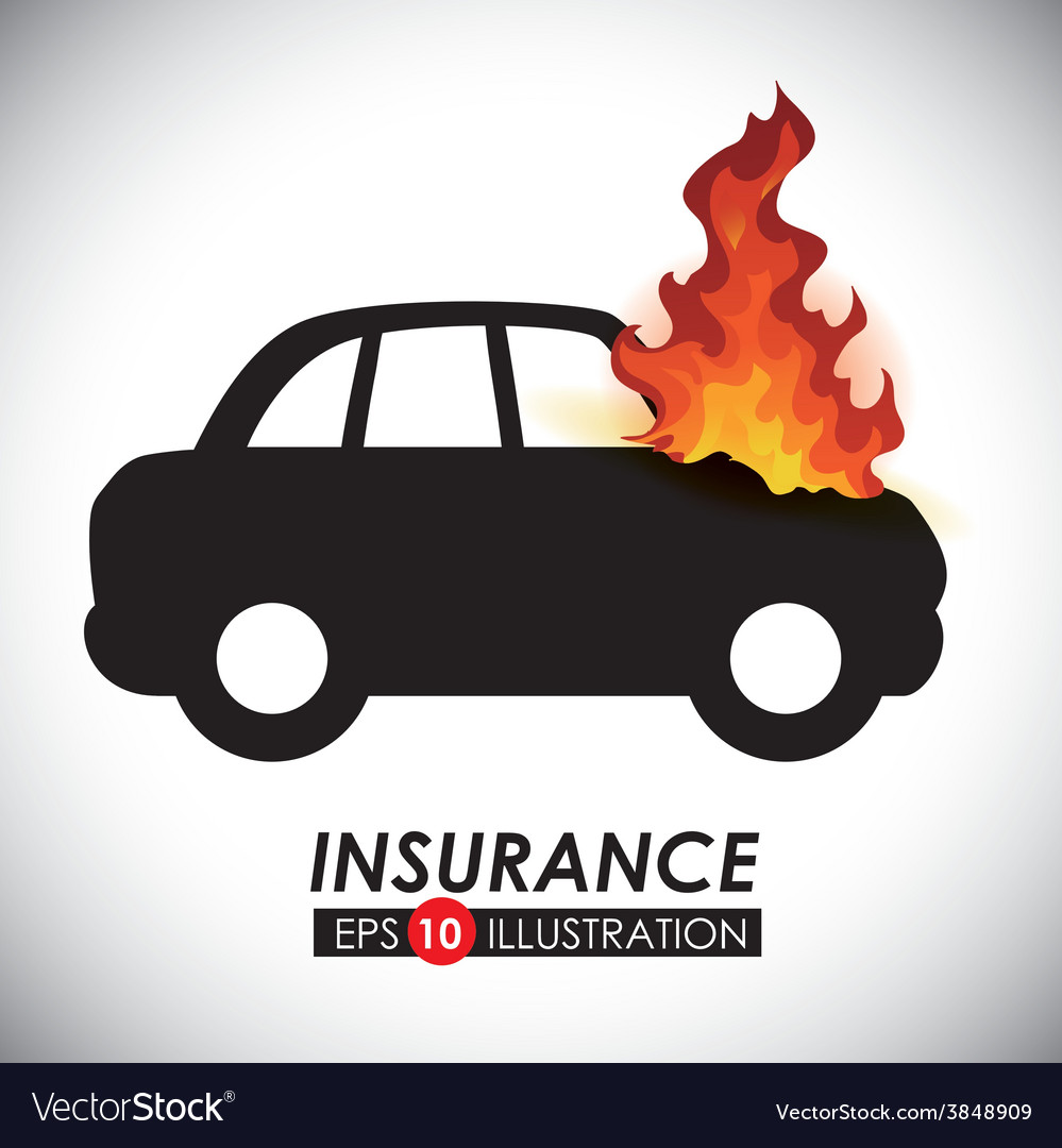 Fire insurance vector | Price: 1 Credit (USD $1)