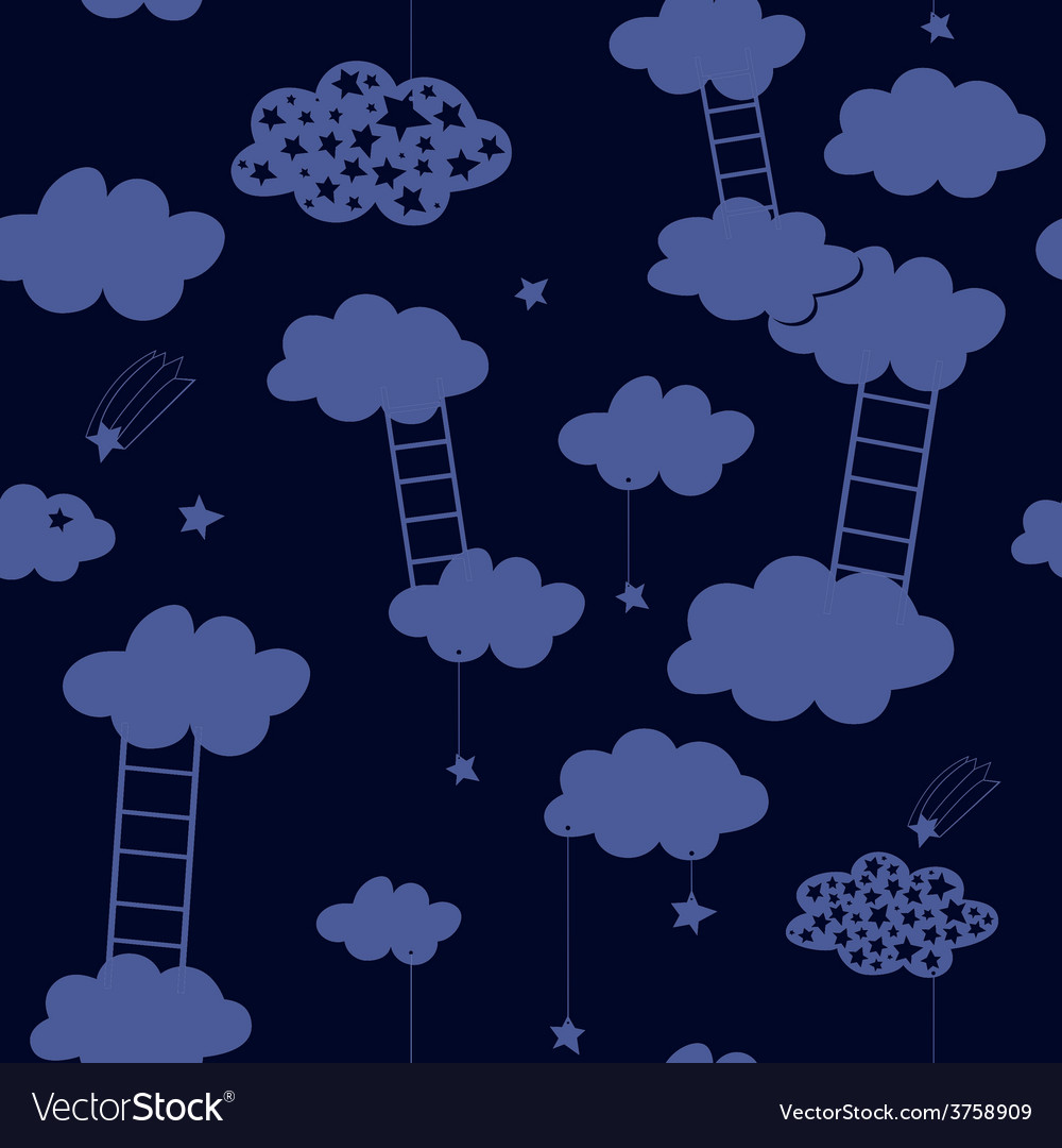 Ladders on the seventh sky vector | Price: 1 Credit (USD $1)
