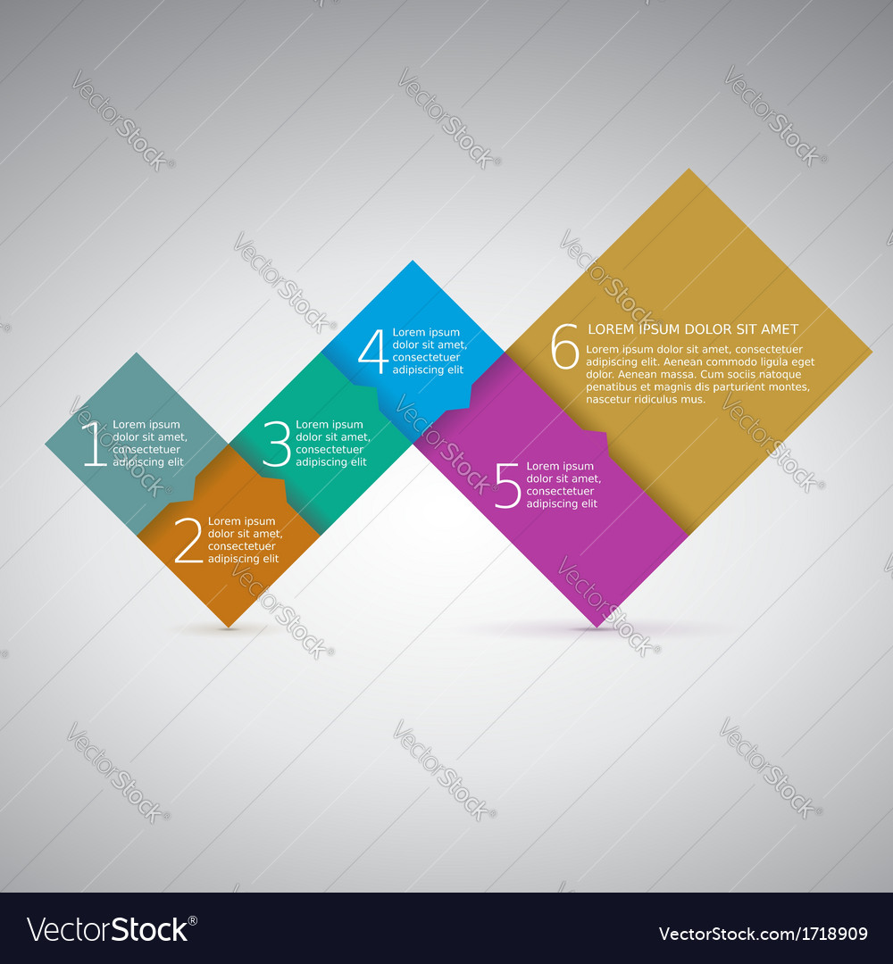 Progress steps for your presentation vector | Price: 1 Credit (USD $1)