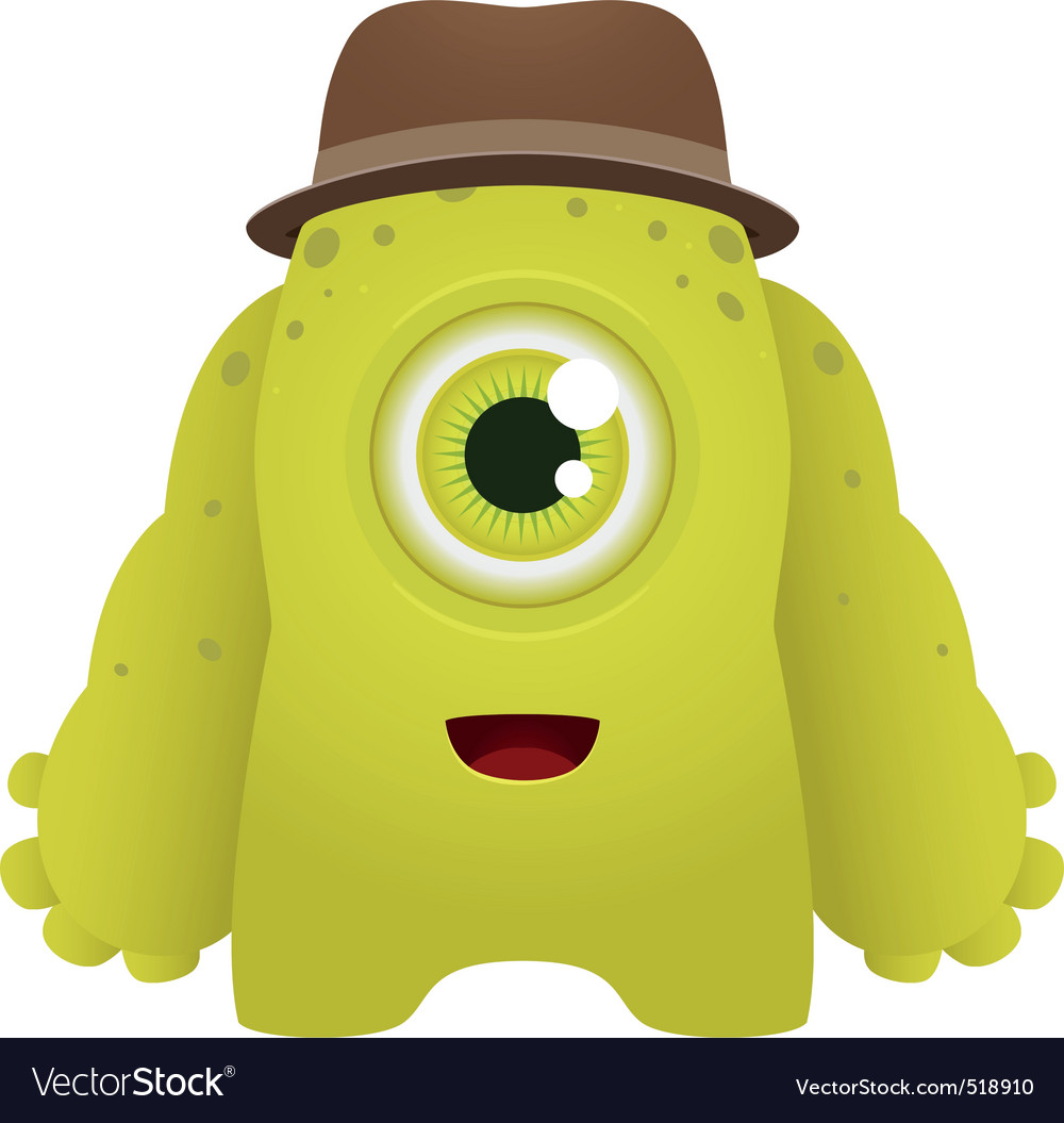 Cute monster vector | Price: 3 Credit (USD $3)