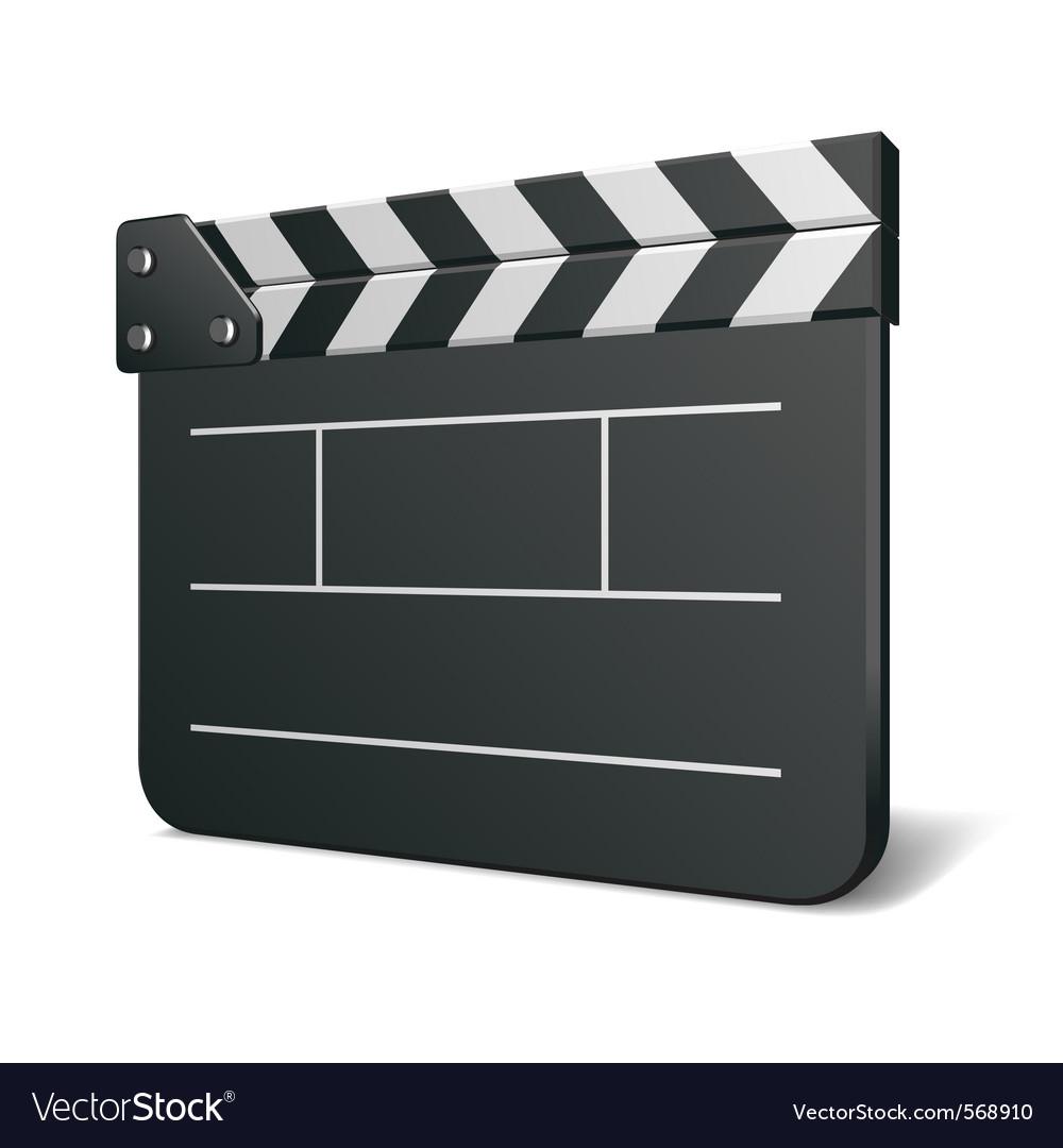 Film clap board vector | Price: 1 Credit (USD $1)