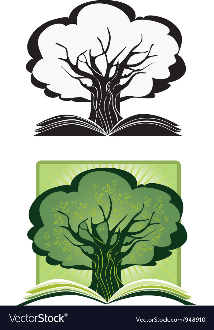 Knowledge tree vector | Price: 1 Credit (USD $1)