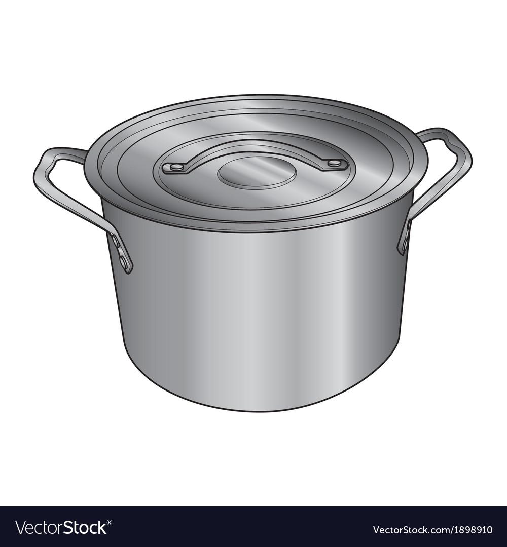 Pot vector | Price: 1 Credit (USD $1)