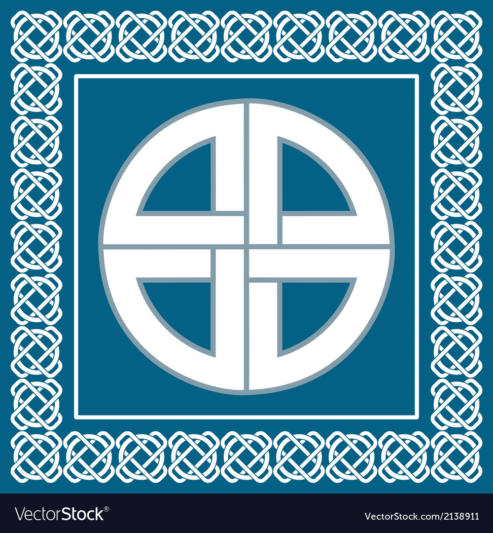 Ancient celtic knotsymbol of protection vector | Price: 1 Credit (USD $1)
