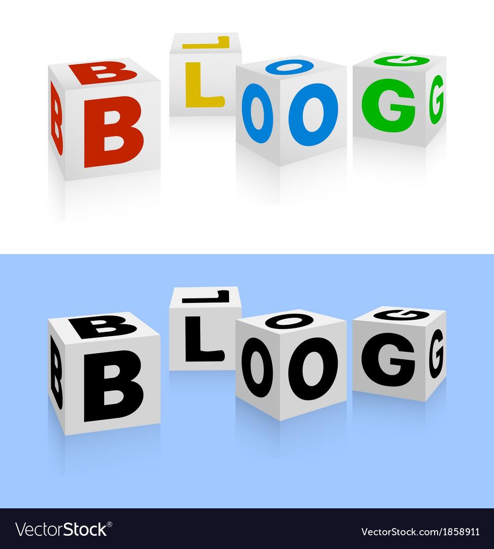 Blog icon vector | Price: 1 Credit (USD $1)
