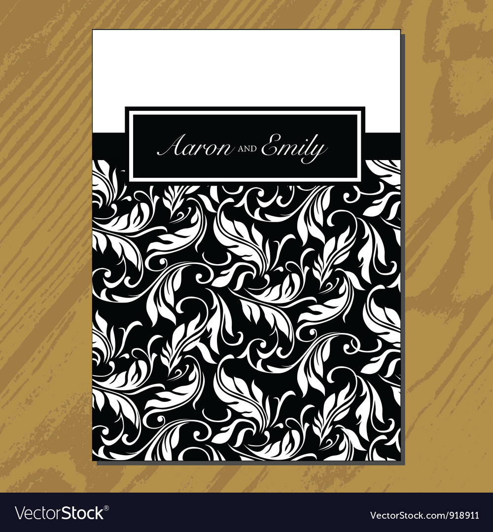 Greeting card for wedding vector | Price: 1 Credit (USD $1)