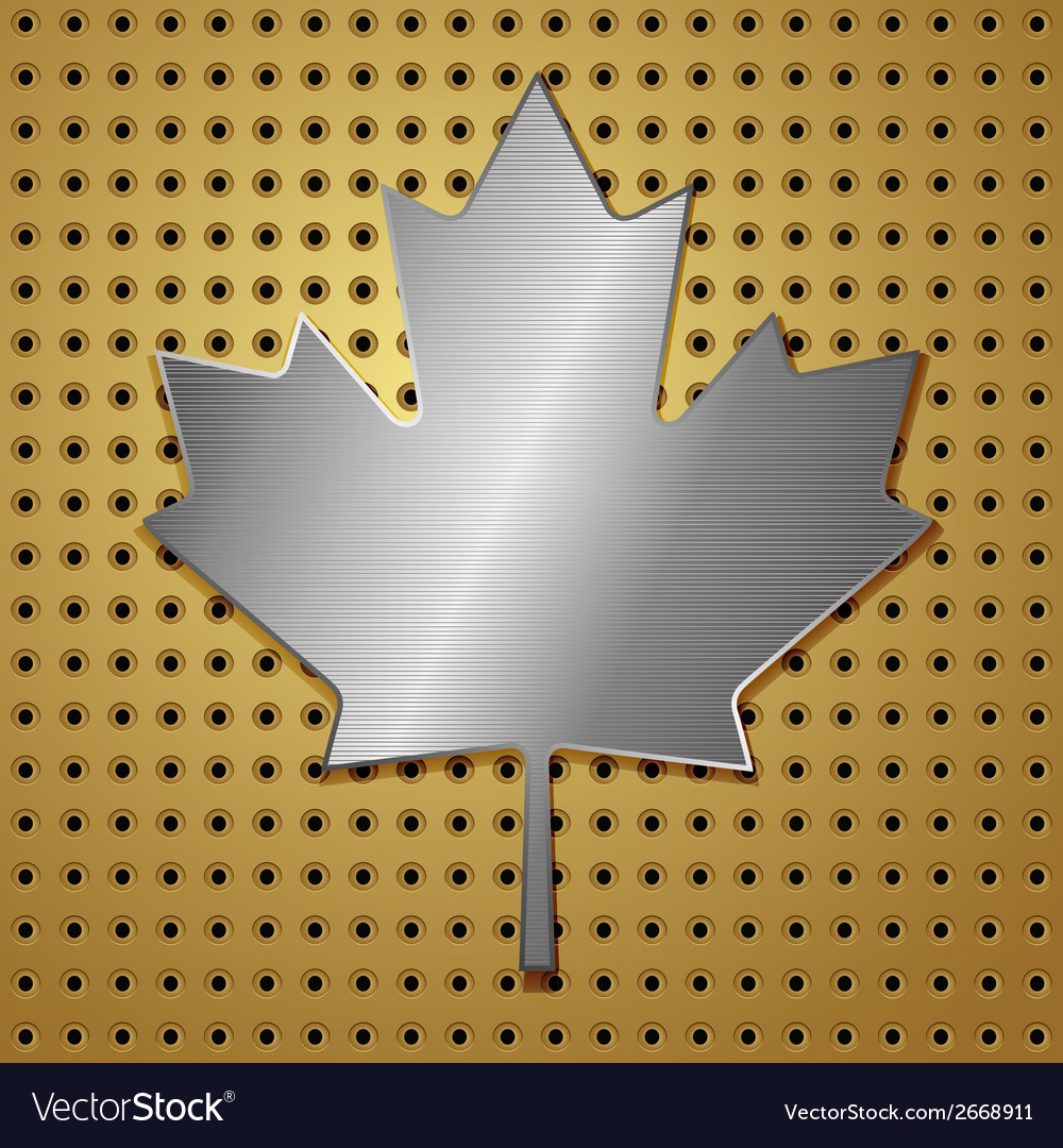 Leaf of steel vector | Price: 1 Credit (USD $1)