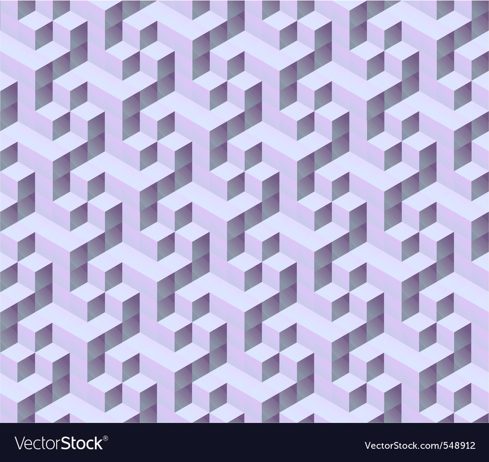 3d isometric cube pattern vector | Price: 1 Credit (USD $1)