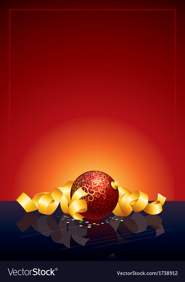 Christmas background ready for text and design vector | Price: 1 Credit (USD $1)