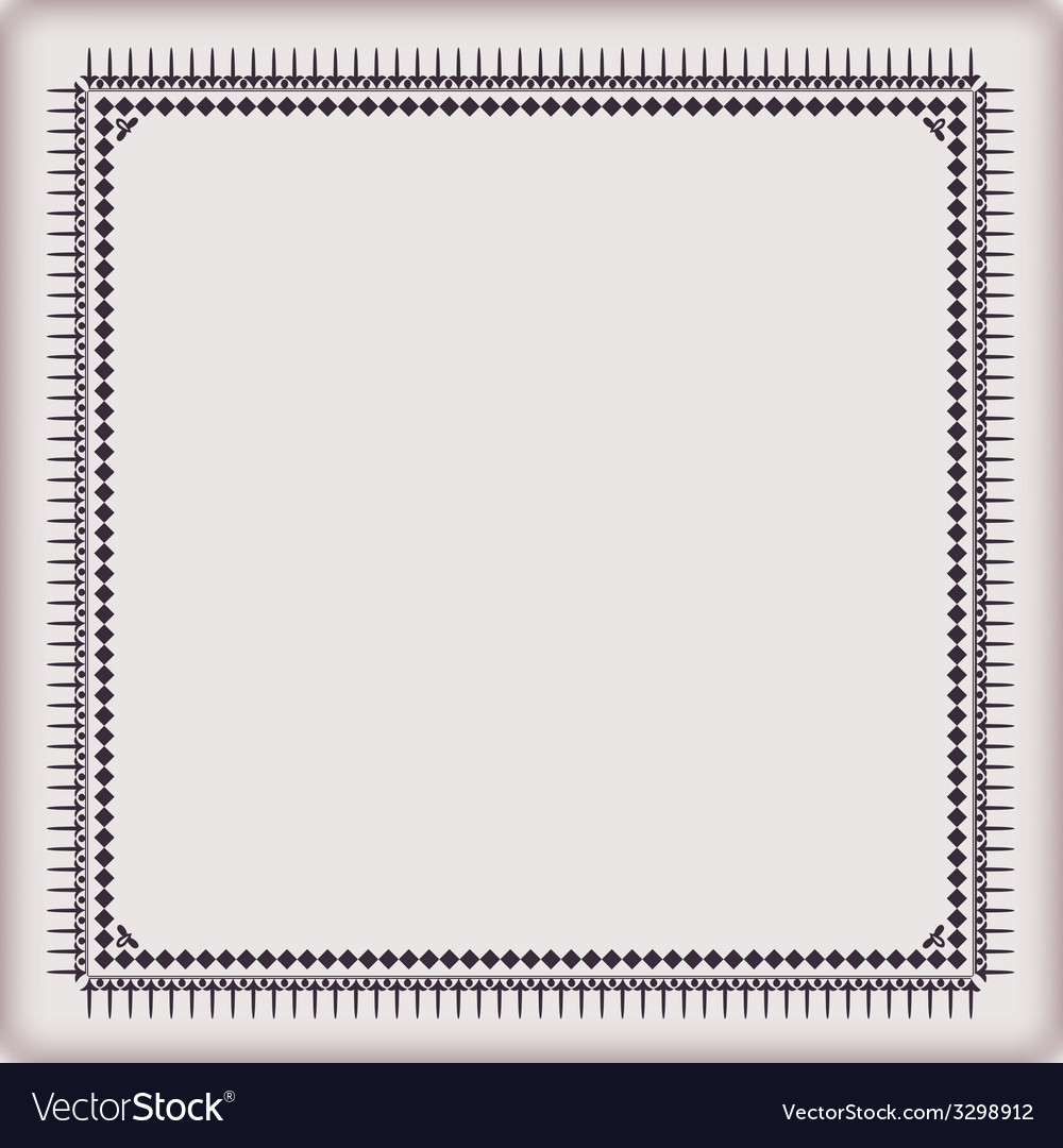 Set frames geometric pattern vector | Price: 1 Credit (USD $1)