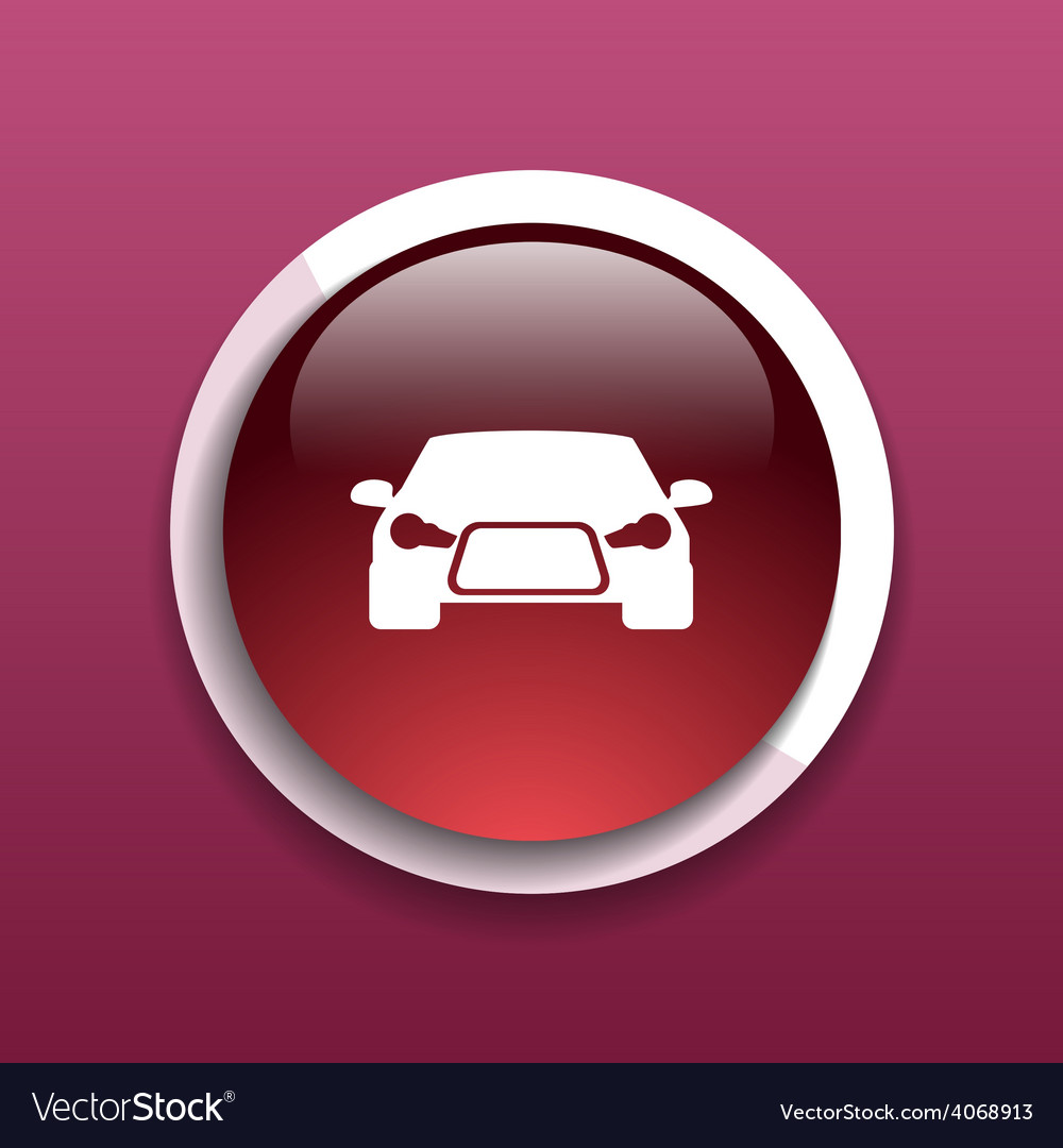 Automobile icon car vehicle automotive vector | Price: 1 Credit (USD $1)