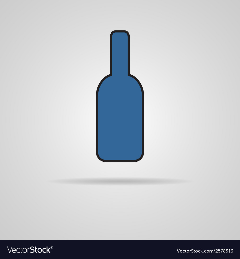 Bottle of beer - vector | Price: 1 Credit (USD $1)