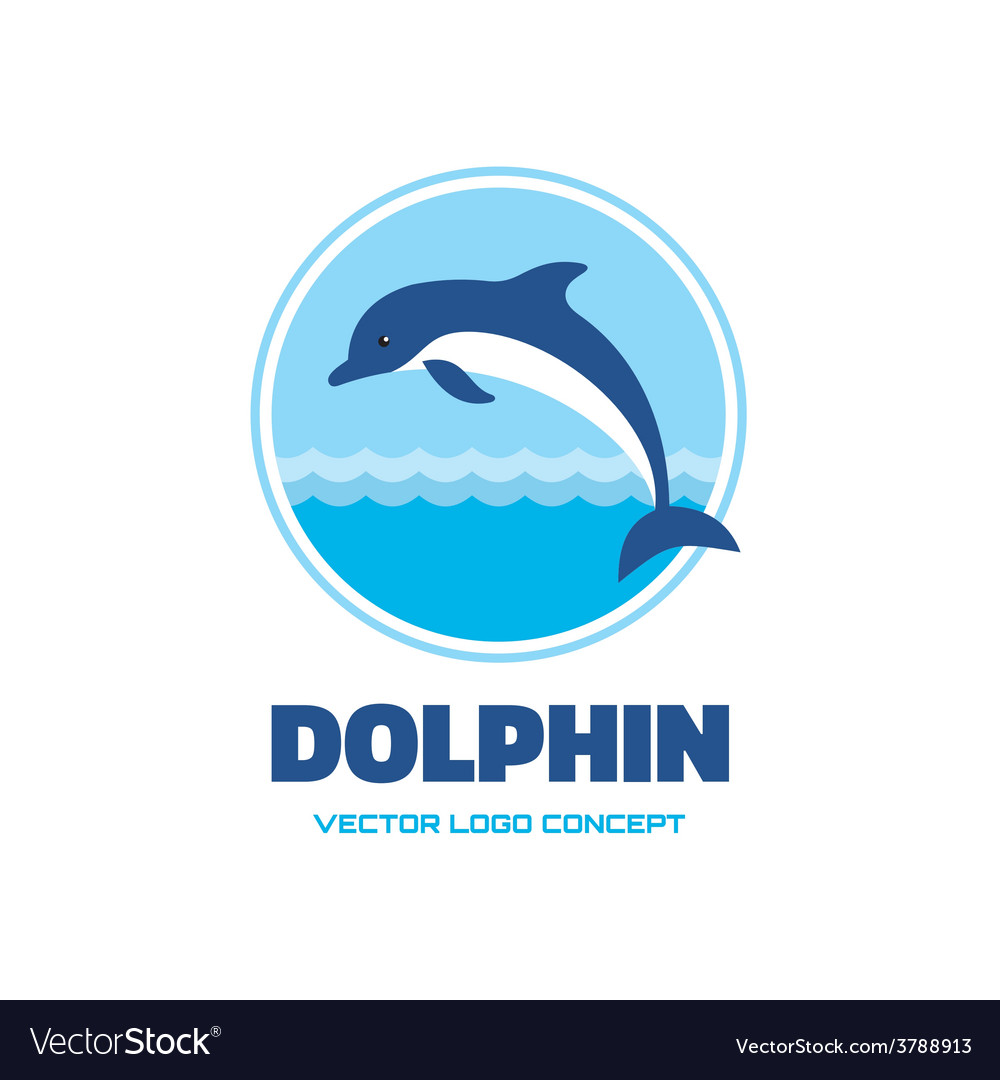 Dolphin - logo concept vector | Price: 1 Credit (USD $1)