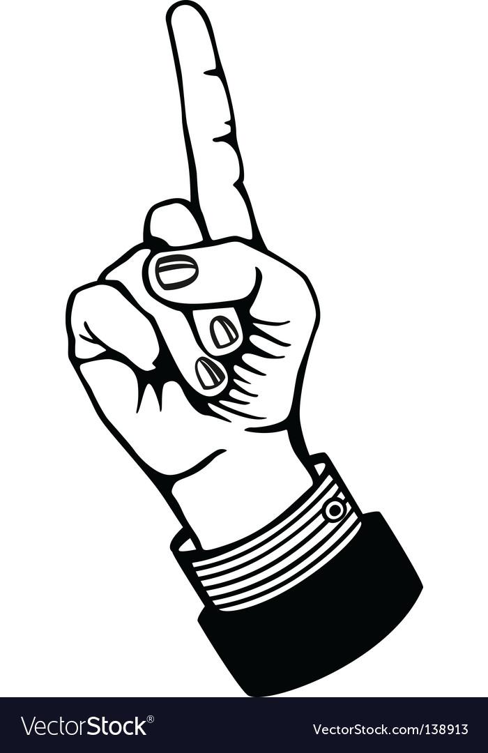 Index finger vector   Price: 1 Credit (USD $1)