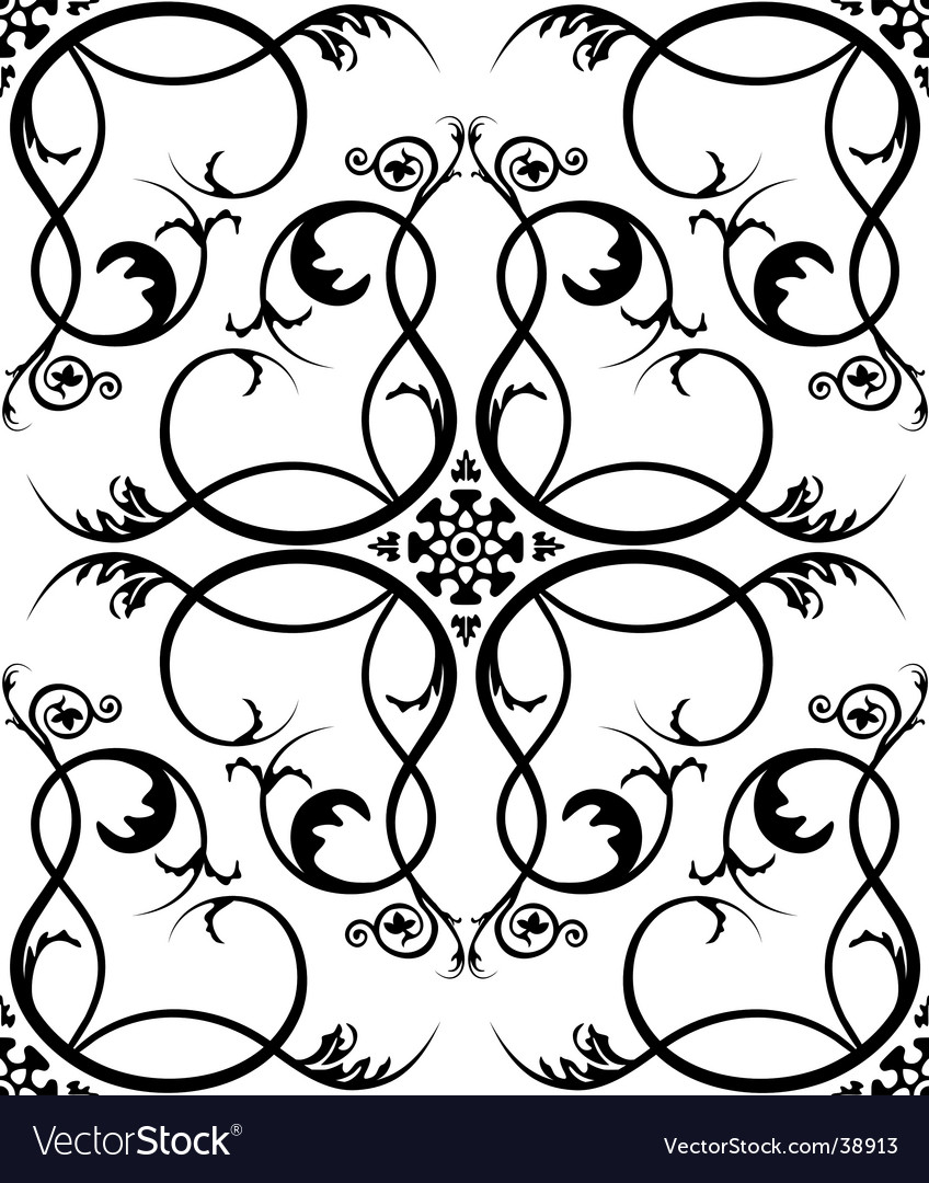 Renaissance wallpaper vector | Price: 1 Credit (USD $1)