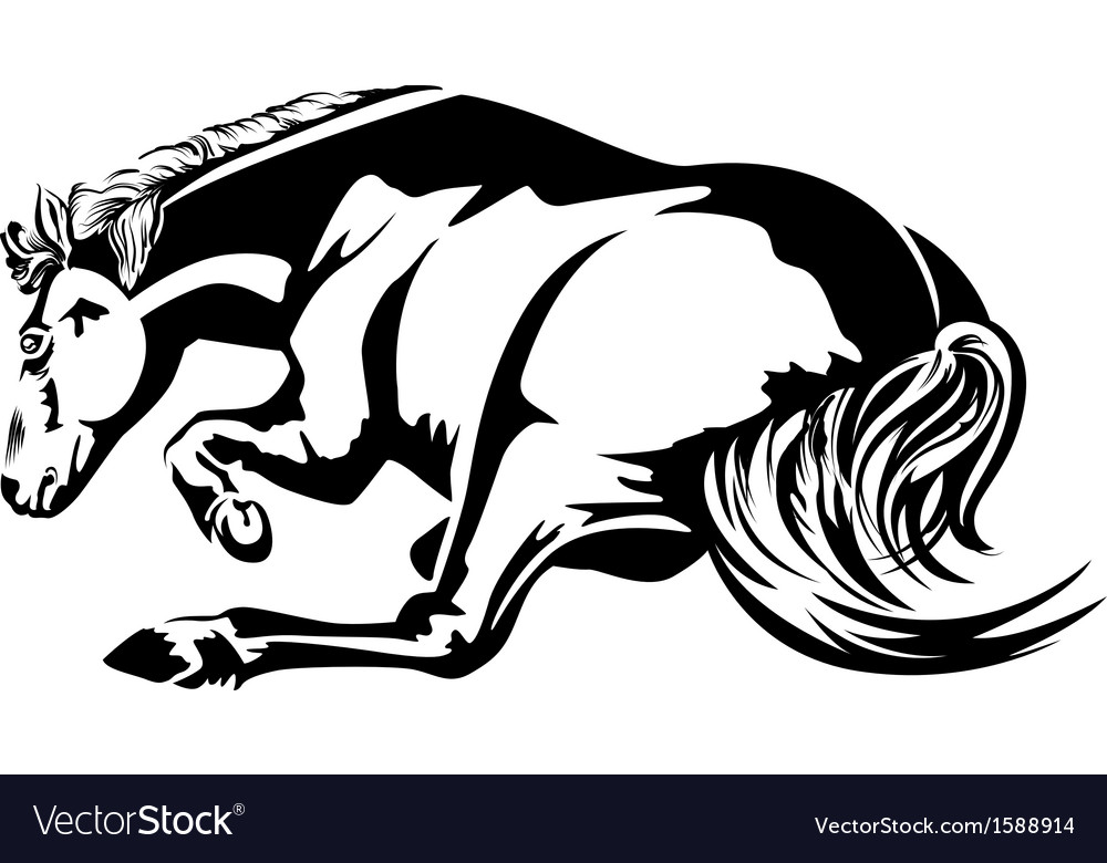 Horse lie vector | Price: 1 Credit (USD $1)